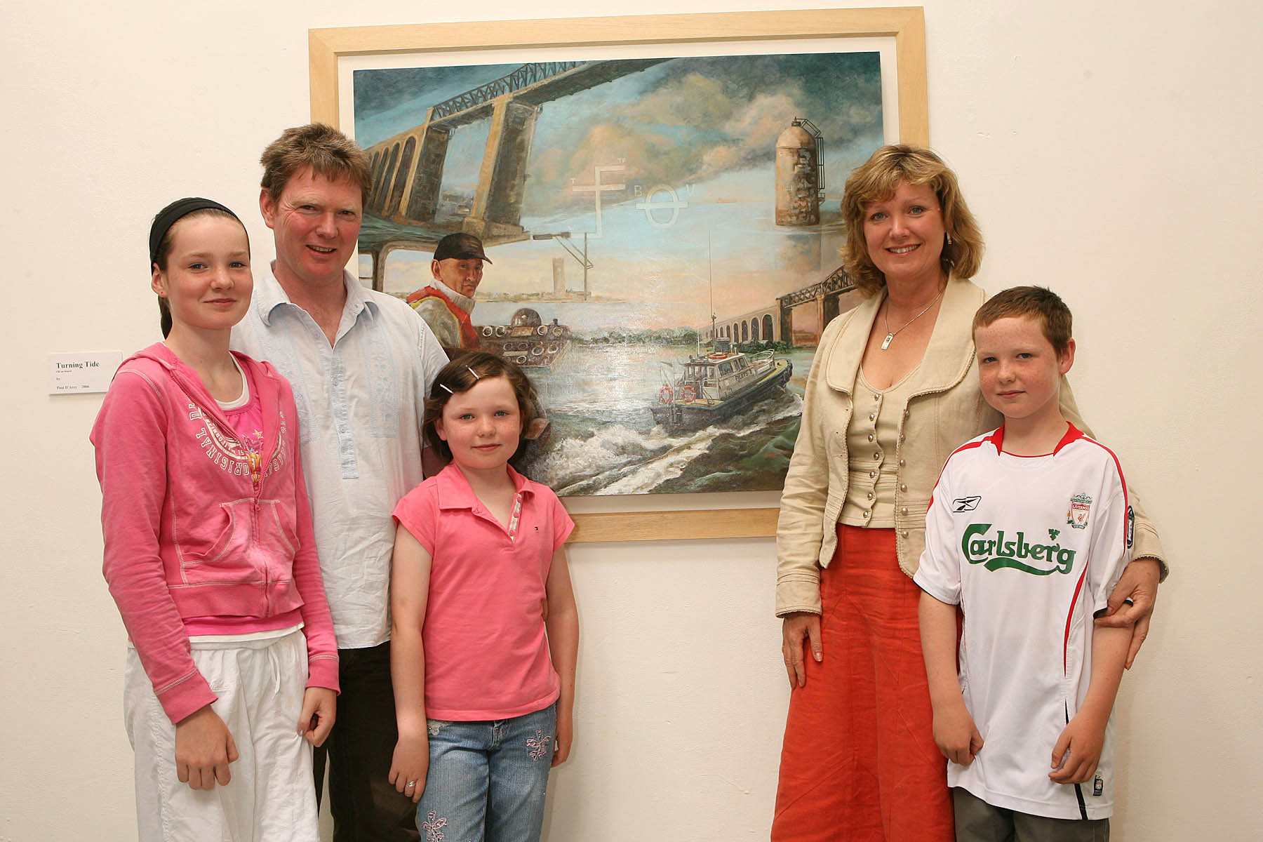 Paul D'Arcy and his Family 2006