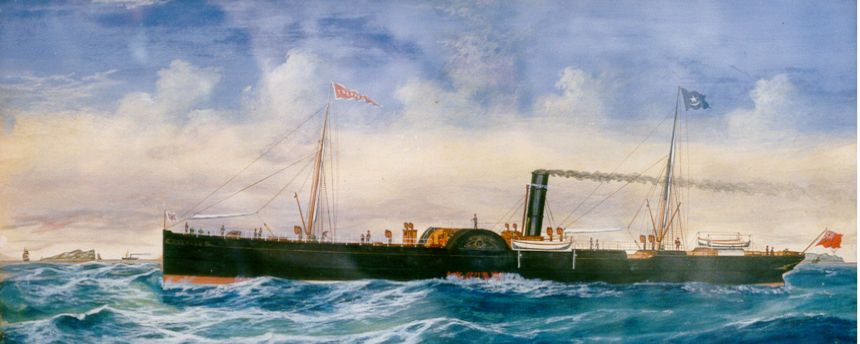 Steamship Tredagh from Drogheda